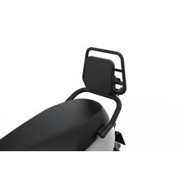 Zwarte bagagedrager inklapbaar met zwart kussen voor E110SE & E110S