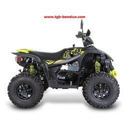 TGB ATV QUAD, model Blade 600LT, Euro 4 norm, L7e homologatie, kleur zwart/geel.